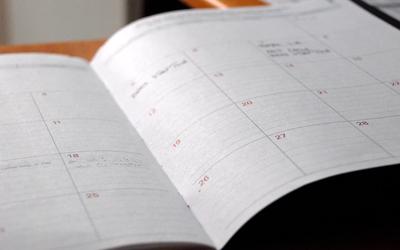 Agenda de eventos macroeconómicos | semana del 6 abril al 10 de abril